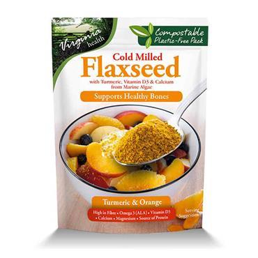 Virginia Harvest Cold Milled Flaxseed Orange & Turmeric 200g