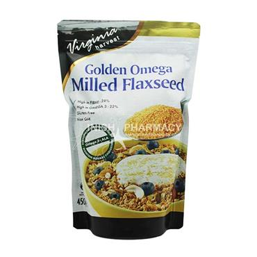 Virginia Harvest Golden Omega Milled Flaxseed 450gm