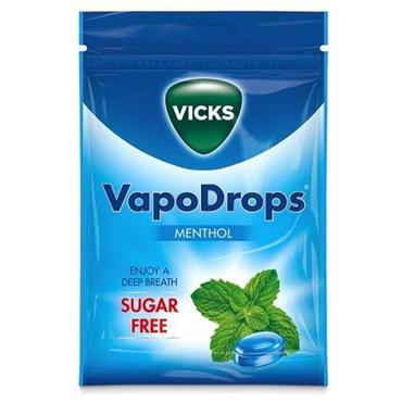 Vicks VapoDrops Sugar Free Menthol