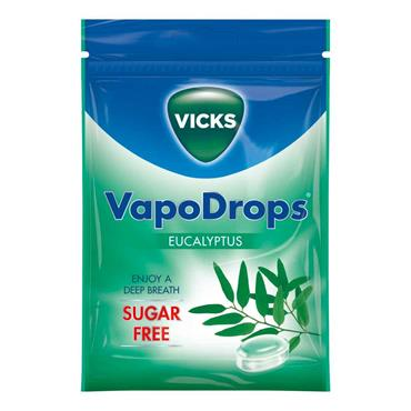 Vicks VapoDrops Sugar Free Eucalyptus