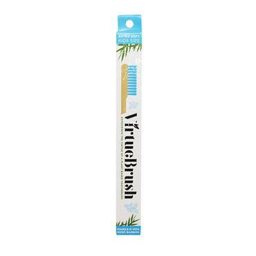 VirtueBrush Kids Extra Soft Bamboo Toothbrush Blue