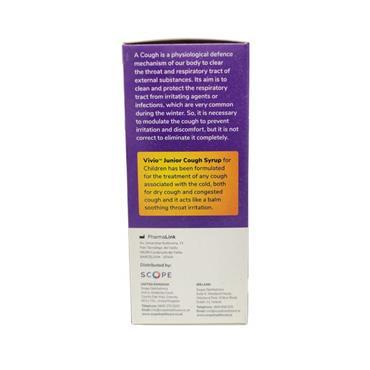 Vivio Junior Cough Syrup 140ml