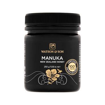 Watson & Son Manuka 100mg New Zealand Honey 250g