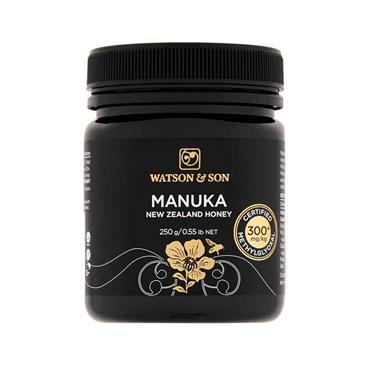 Watson & Son Manuka 300mg New Zealand Honey 250g