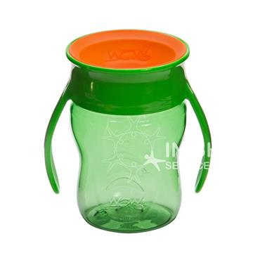 Wow Cup Baby Drinking Cup - Green