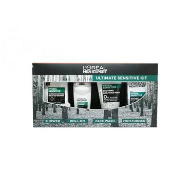 L'Oreal Men Expert Ultimate Sensitive 4  Piece Gift Set