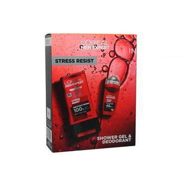 L'Oreal Men Expert Stress Resist 2 Piece Gift Set