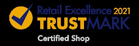 Retail Excellence Ireland 2021 Certified Shop Trustmark