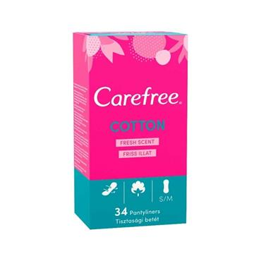 CAREFREE BREATHEABLE PANTYLINERS