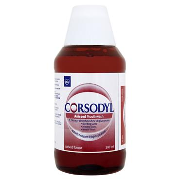 CORSODYL MOUTHWASH ANISEED 300ML
