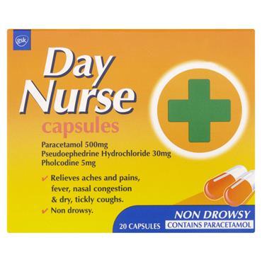 DAY NURSE CAPS