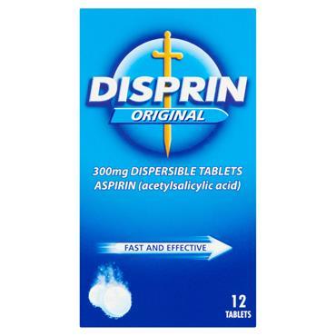DISPRIN ASPIRIN ORIGINAL TABLETS