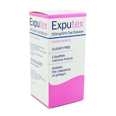 EXPUTEX 250MG/5ML ORAL SOLUTION 100ML