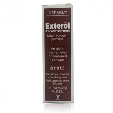 EXTEROL 5 PERC EAR DROPS SOLUTION 8ML PH ONLY
