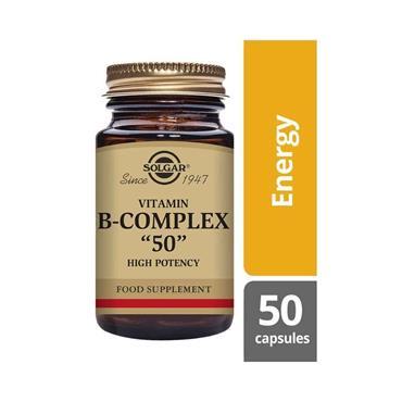 SOLGAR FORMULA VITAMIN B COMPLEX 50 V 50 E1120