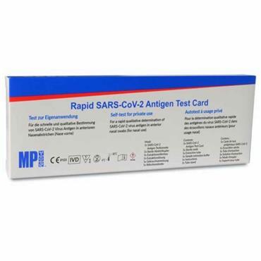 MP BIOMEDICALS RAPID SARS COV ANTIGEN TEST CARD