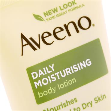 AVEENO DAILY MOISTURISING BODY LOTION UNSCENTED 200ML