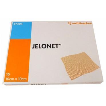 JELONET PARAFFIN GAUZE DRESSING 10 X 10CM 10 PACK