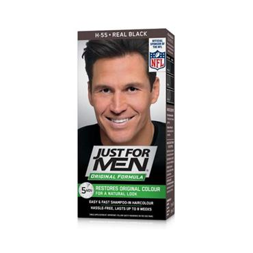 JUST FOR MEN REAL BLACK SHAMPOO IN HAIRCOLOUR