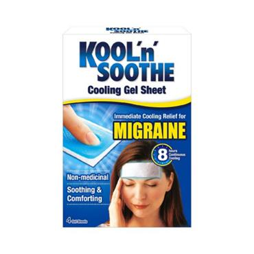 KOOL N SOOTHE MIGRAINE PATCHES 4PACK