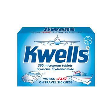 KWELLS TRAVEL SICKNESS TABLETS (12 PACK)