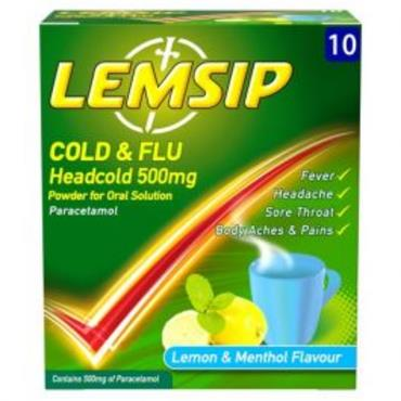 LEMSIP HEADCOLD 10S