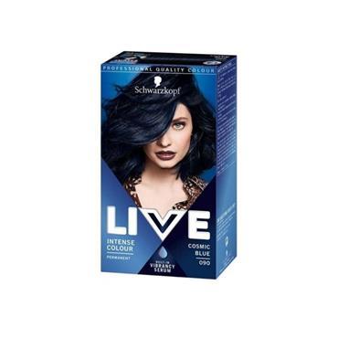 SCHWARZKOPF LIVE INTENSE COLOUR PERMANENT COSMIC BLUE 090