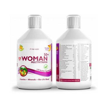 SWEDISH NUTRA SWEDISH NUTRA WOMAN ACTIVE 50 PLUS MULTIVITAMIN 500ML