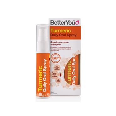 BETTER YOU TURMERIC ORAL SPRAY 25ML 6 PACK