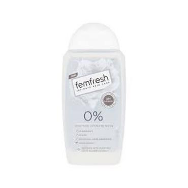 FEMFRESH SENSITIVE INTIMATE WASH 0%