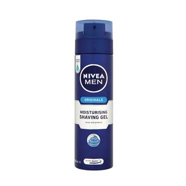 NIVEA MEN SHAVING GEL MOISTURISING