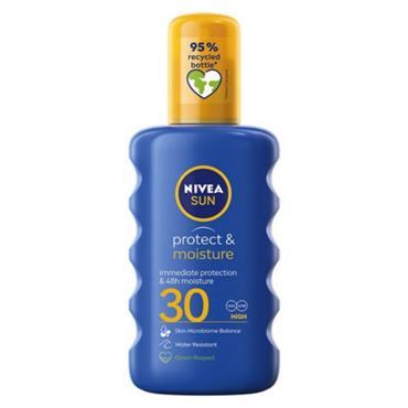 NIVEA SUN PROTECT AND MOISTURE SPRAY SPF30