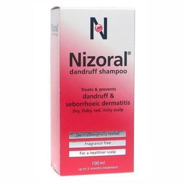 NIZORAL DANDRUFF 20MG G SHAMPOO 100ML PH ONLY