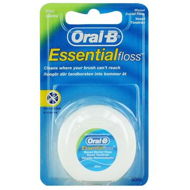 ORAL B DENTAL FLOSS MINT WAXED