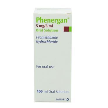 PHENERGAN 5MG 5ML ORAL SOLN 100ML PH ONLY