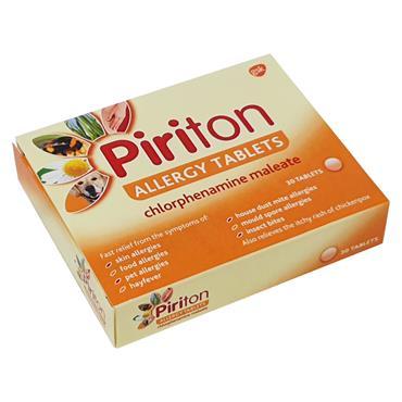 PIRITON TABLETS 4MG 30 PACK