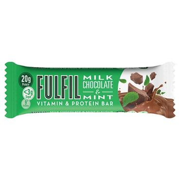 FULFIL MILK CHOCOLATE & MINT PROTEIN BAR 60G