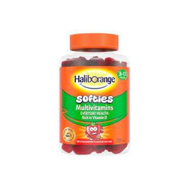 HALIBORANGE HALIBORANGE MULTIVITAMIN SOFTIES STRAWBERRY 60 PACK