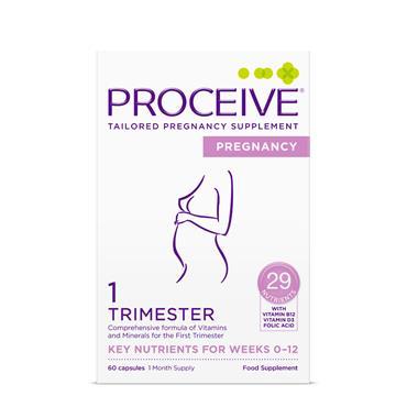 PROCEIVE PROCEIVE PREGNANCY TRIMESTER 1 60 CAPSULES