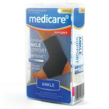 MEDICARE SPORT NEOPRENE ANKLE SUPPORT (SMALL)