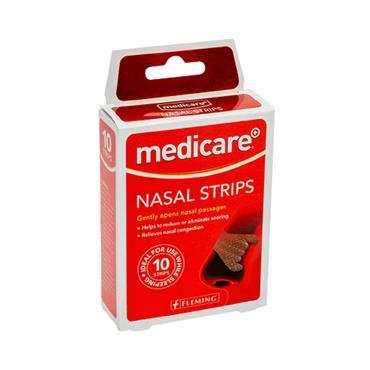 MEDICARE NASAL STRIPS 10 PER BOX