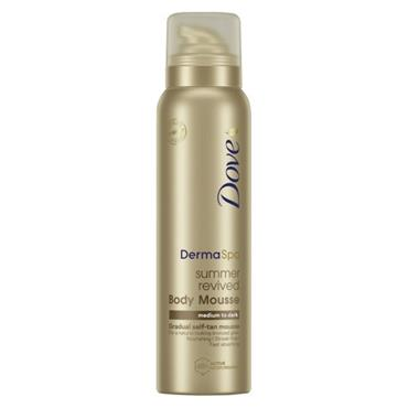 DOVE SUMMER REVIVED MOUSSE MED TO DARK 150ML