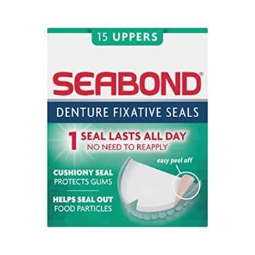 SEABOND DENTURE FIXATIVE SEALS 15 UPPER