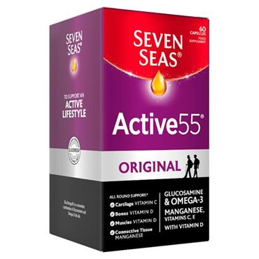 SEVEN SEAS ACTIVE 55 ORIGINAL 60 CAPSULES