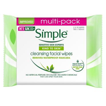 SIMPLE WIPES TWIN PACK2 FOR5