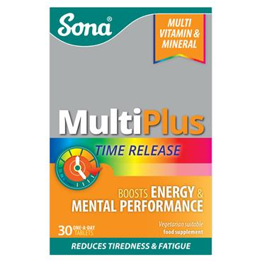 SONA MULTIPLUS TIME RELEASE TABLETS 30 PACK
