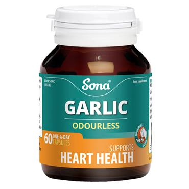 SONA GARLIC ODOURLESS 60 CAPSULES