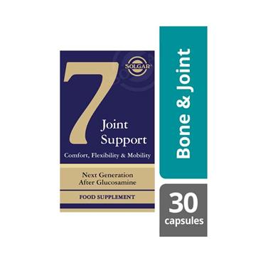 SOLGAR 7 JOINT SUPPORT 30 VEG CAPS