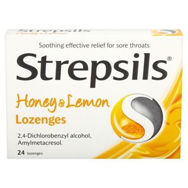 STREPSILS HONEY & LEMON LOZENGES