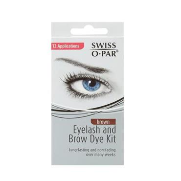 SWISS O PAR EYEBROW DYE BROWN